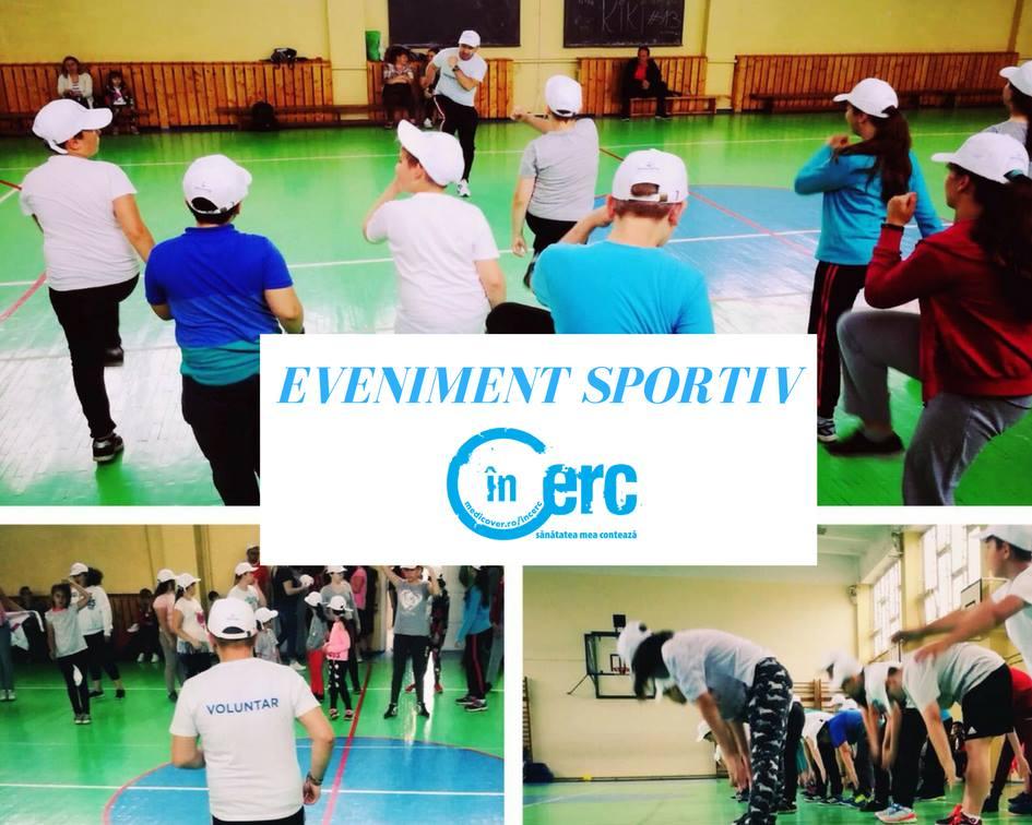 """Primul eveniment sportiv din cadrul Programului """"înCerc"""""""