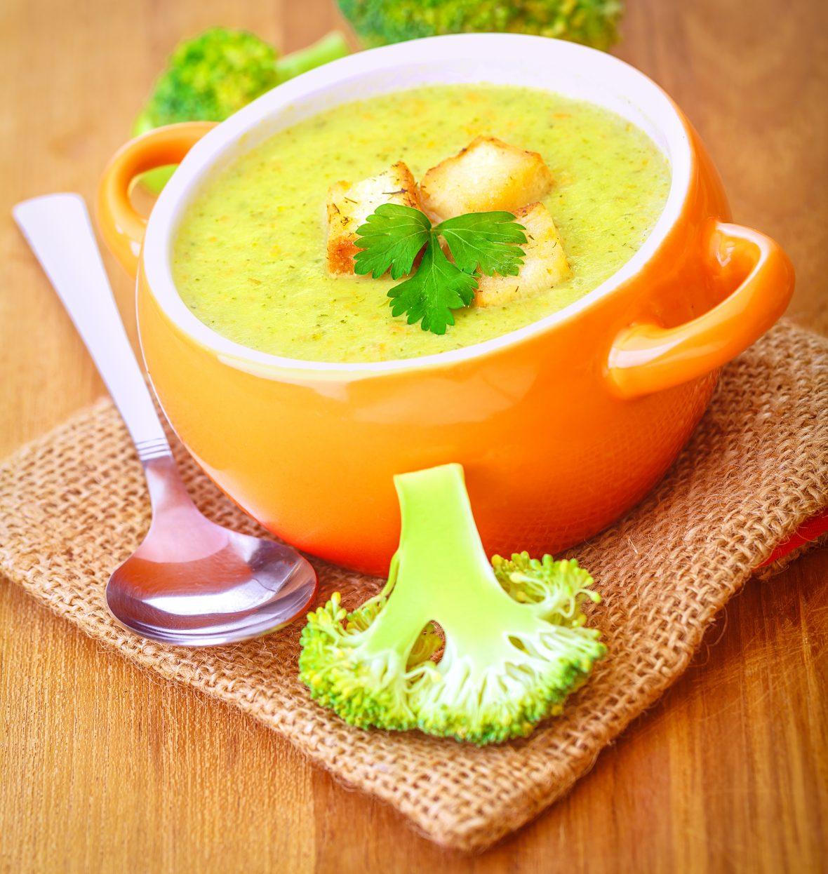 Supa cremă de broccoli