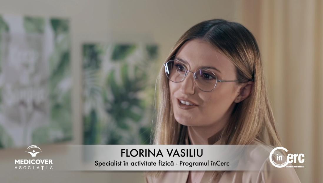Florina Vasiliu, specialist activitate fizică