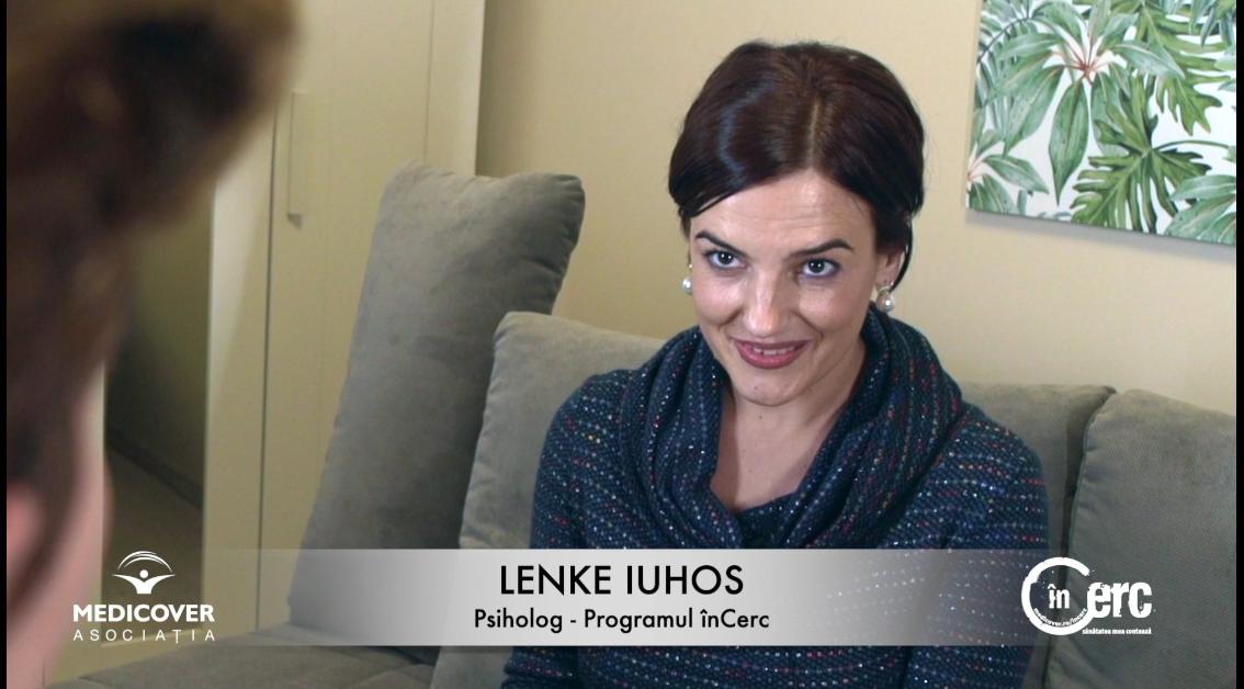 """Lenke Iuhos, psiholog """"înCerc"""""""