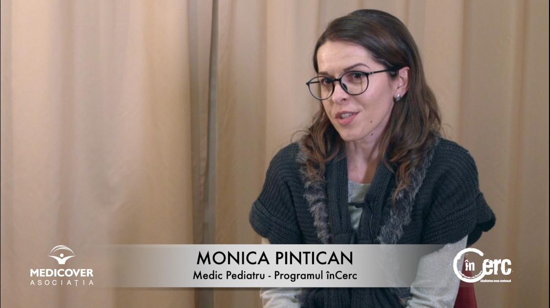 """Dr. Monica Pintican, medic pediatru """"înCerc"""""""