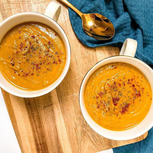 Cină sănătoasă - Supă cremă de linte
