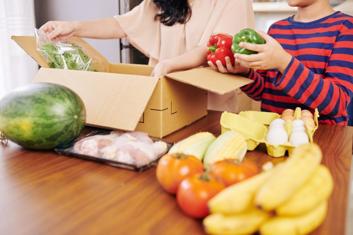 coșul sănătos de cumpărături în sezonul rece