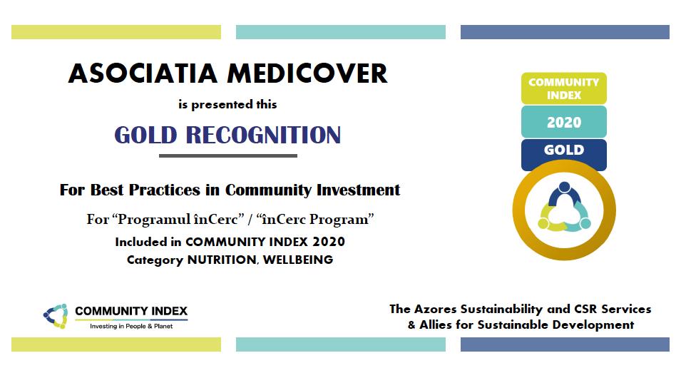 """Programul """"înCerc"""" prezent în Community Index Magazine"""
